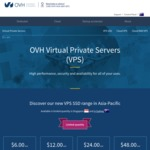 Australian VPS From $6.60 (~ $7.20 NZD) - 1 Core, 1GB RAM, 30GB SSD, 1TB Traffic - No Setup Fees + Anti-DDos at OVH