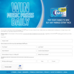 Win a Share of Over $47,000 Worth of BOSE/Apple/Ticketek Prizes from The Wrigley Company [Purchase Wrigley EXTRA]