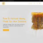 10% off Raw NZ Made Honey (e.g. $18 for 500g Shipped) @ Hihi Honey