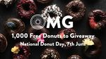 1000 Free Donuts 7/6 @ Original Foods Christchurch