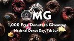 1000 Free Donuts 7/6 @ Original Foods Christchurch