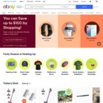 $7.93 off $23.80 NZD Spend @ eBay AU or US