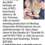 Win a Double Pass to Meeting Karpovsky from The Dominion Post (Wellington)