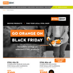 Various  Black Friday Specials @ Stihl Shop