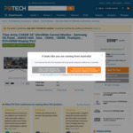 "Titan Army 34"" Ultrawide Monitor 3440X1440 100hz $499 @ PB Tech"