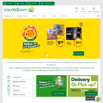 $10 off Next 2 Shops (Min. $100 Spend) @ Countdown