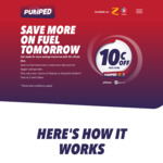 $0.10 off Per Litre from 6am Every Wednesday @ Z & Caltex + Pump Stacking