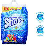 The Warehouse - Shotz Laundry Powder Bag 10kg - $15.99