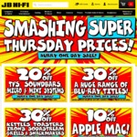 JB Hifi Smashing Super Thursday Sale - GoPro Hero 5 $498 / Netgeat X10 R9000 $679.20 + More