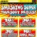 JB Hifi Smashing Super Thursday Sale - GoPro Hero 5 $498 / Netgeat X10 R9000 $679.20 + More