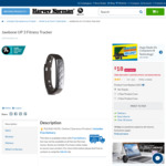 Jawbone UP 3 Fitness Tracker - $18 @ Harvey Norman