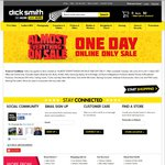 Dicksmith 'One Day Sale' - 40pk AA Battery $7.42, Camera Bags from $2, Keyboards From $8 + More