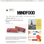 Win One of Four Karen Murrell Nude Lip Palettes (Worth $50 Each) from Mindfood