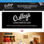 50% off All Culley's Products Ordered Online