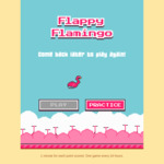 [Free] Play Flappy Flamingo to Win Free Flamingo Scooters Minutes