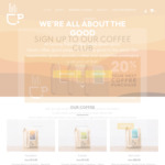 30% off all 500g Coffee varieties ($18.20) + Shipping @ Turning Point Coffee