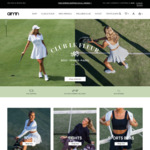 20% off (No Min Spend) + Free Shipping at Aimn Active Wear