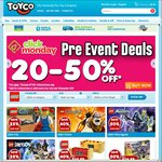 Toyco 20-60% off (Click Monday)