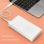 Xiaomi Mi 20000mAh Mobile Power Bank Dual USB USD $24.99/ ~AUD $34.5 Delivered @ Everbuying - New Accounts