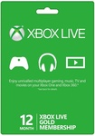 Xbox Live 12 Months Gold Membership Card Global Just $45.35 USD (~$65 NZD) @SCDKey