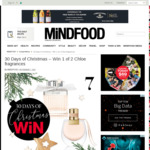 Win 1 of 2 Chloe Fragrances from Mindfood