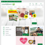 $10 (Min. $150 Spend) off Next 3 Orders @ Countdown