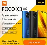 Poco X3 NFC - From $344 NZD - (120Hz Display, Snapdragon 732G, 6GB Ram) - World Premiere Flash Sale - Xiaomi Store (Aliexpress)