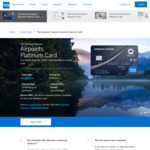 400 Bonus Airpoints Dollars with American Express Airpoints Platinum Card ($195 Annual Fee)