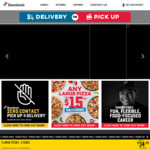 Large Value Pizzas $9, Extra Value/Traditional $11, Gourmet $13 Delivered (Min. $20 Spend) @ Domino's