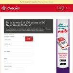Win 1 of 100 Prizes of $50 New World Dollars with New World
