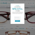 Frames+ Lenses as Low as $9.50 with Clearly's 50% off Code below