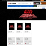 EB Games: Star Wars Force Friday Deals - Shops Open Early
