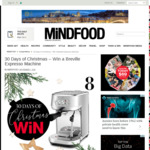Win a Breville Bambino Expresso Machine (Worth $699.95) from Mindfood