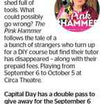 Win a Double Pass to The Pink Hammer from The Dominion Post