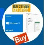 Windows 10 Home + MS Office 2019 + H410/B450 Motherboard + 256GB SSD + Wi-Fi Network Card Bundle $580 @ Topink