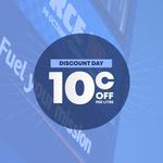 Gull Discount Day - $0.10 off Per Litre