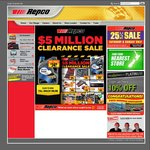Repco 25% off Everything Weekend